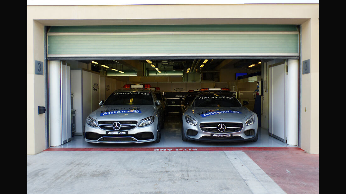 Safety-Car - Formel 1 - GP Abu Dhabi - 26. November 2015