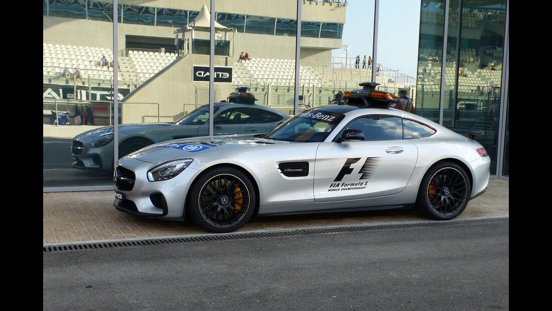 Safety-Car - Formel 1 - GP Abu Dhabi - 27. November 2015