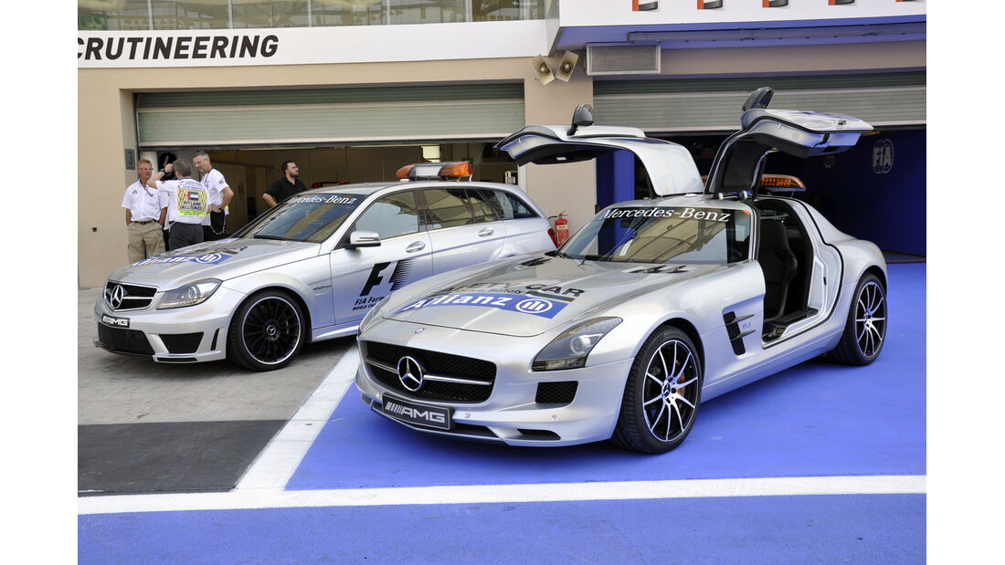 Safety Car  - Formel 1 - GP Abu Dhabi - 31. Oktober 2013