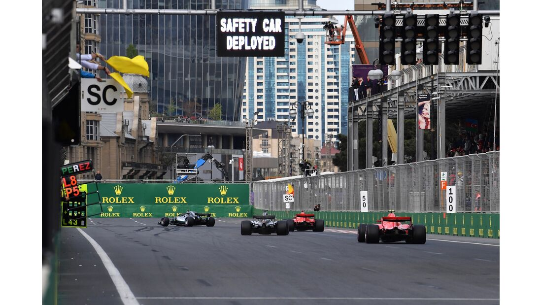 Safety Car - Formel 1 - GP Aserbaidschan - 29. April 2018