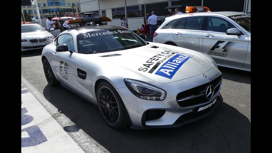 Safety-Car - Formel 1 - GP Aserbaidschan - Baku - 16. Juni 2016