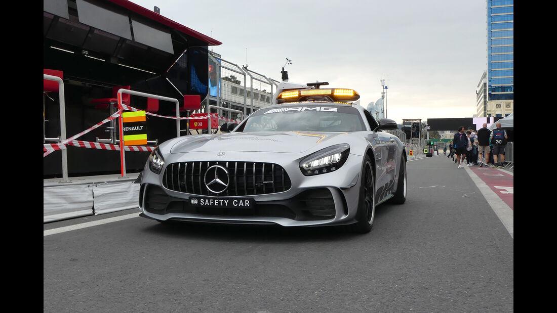 Safety-Car - Formel 1 - GP Aserbaidschan - Baku - 25. April 2019