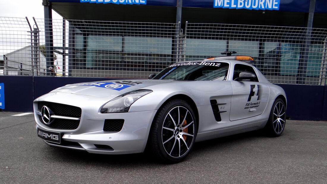 Safety-Car - Formel 1 - GP Australien - 13. März 2013