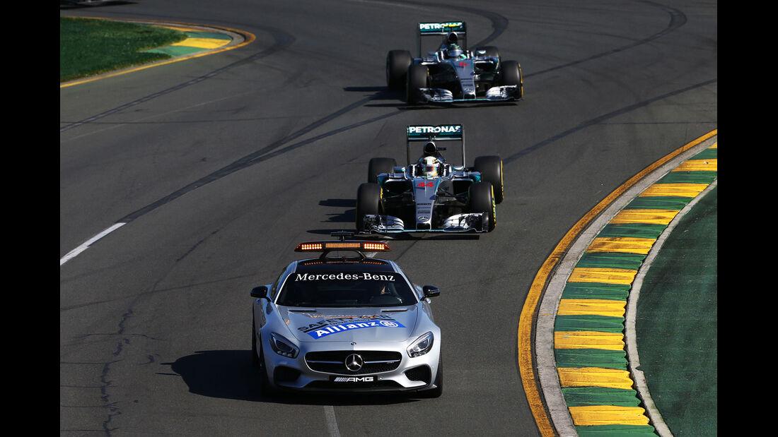 Safety-Car - Formel 1 - GP Australien 2015