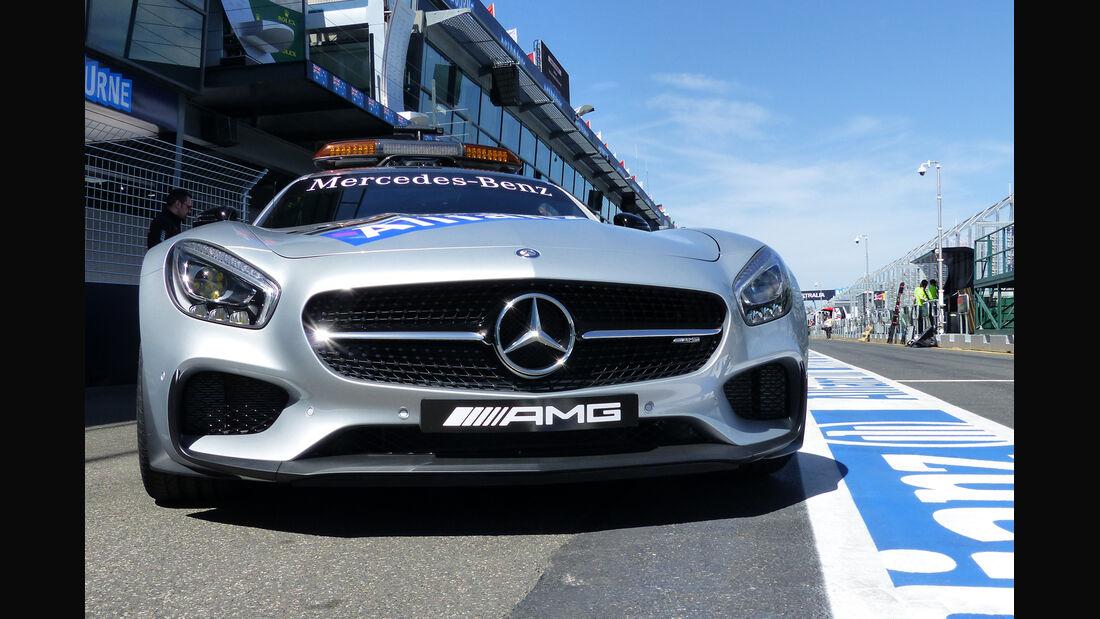 Safety-Car - Formel 1 - GP Australien - Melbourne - 11. März 2015