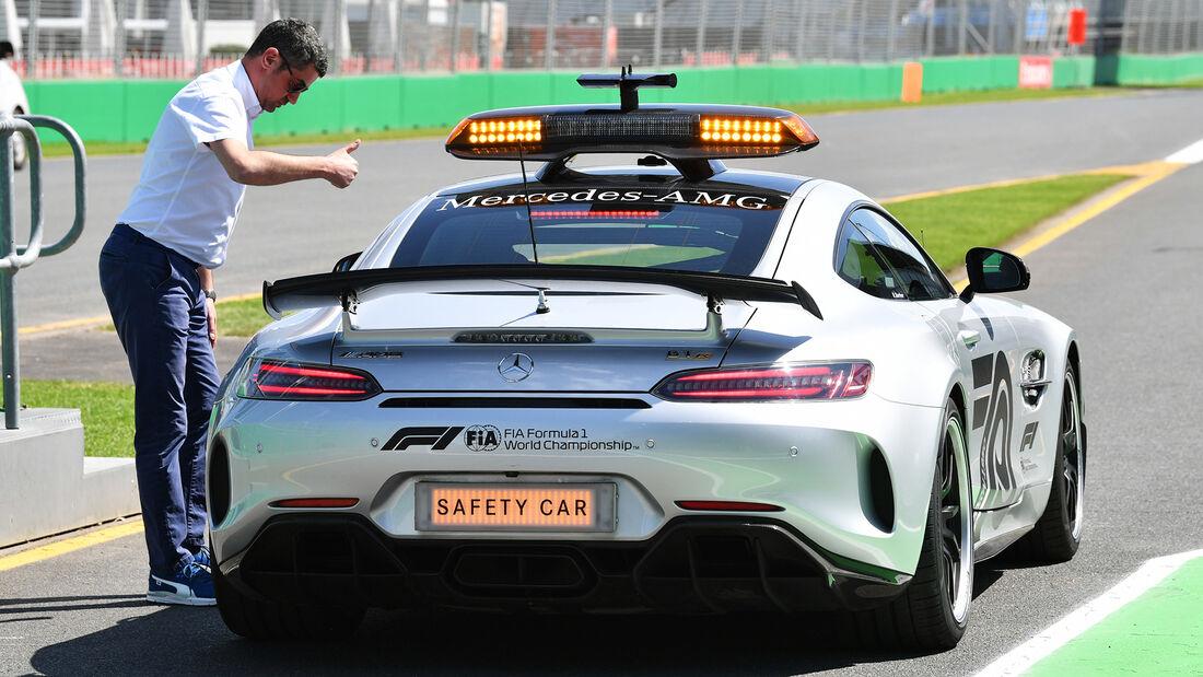 Safety-Car - Formel 1 - GP Australien - Melbourne - 11. März 2020