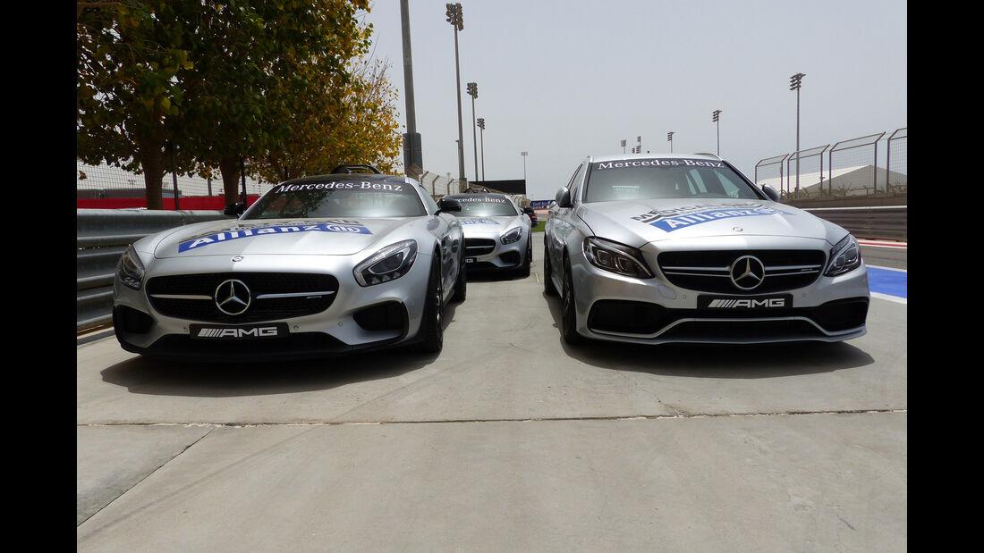 Safety-Car - Formel 1 - GP Bahrain - 15. April 2015