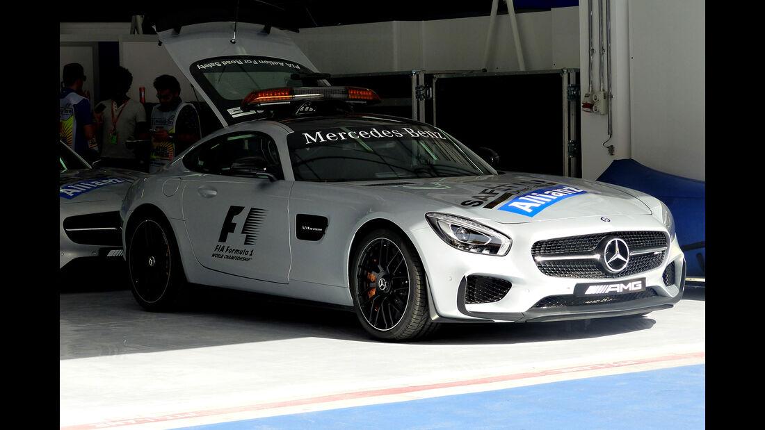 Safety-Car - Formel 1 - GP Bahrain - 16. April 2015