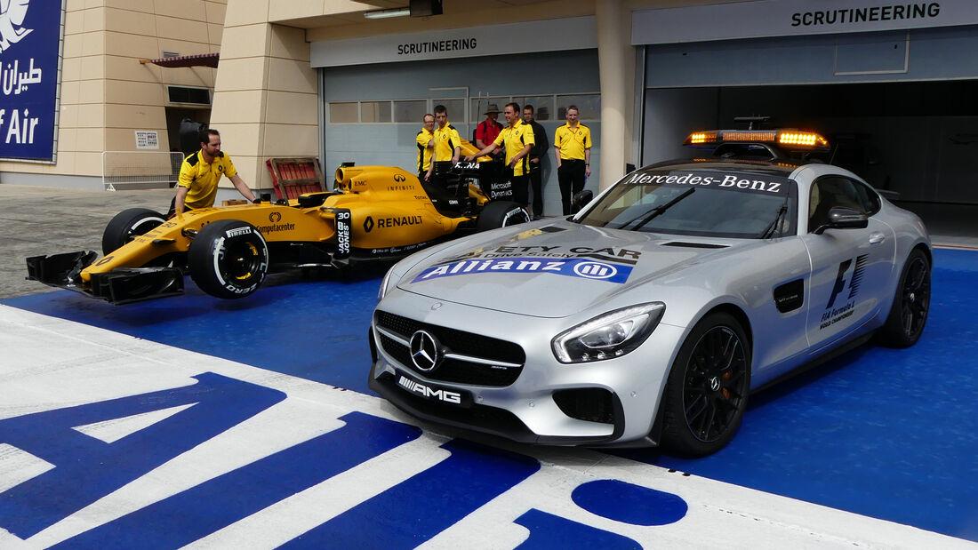 Safety-Car - Formel 1 - GP Bahrain - 31. März 2016