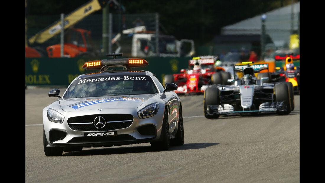 Safety-Car - Formel 1 - GP Belgien 2016