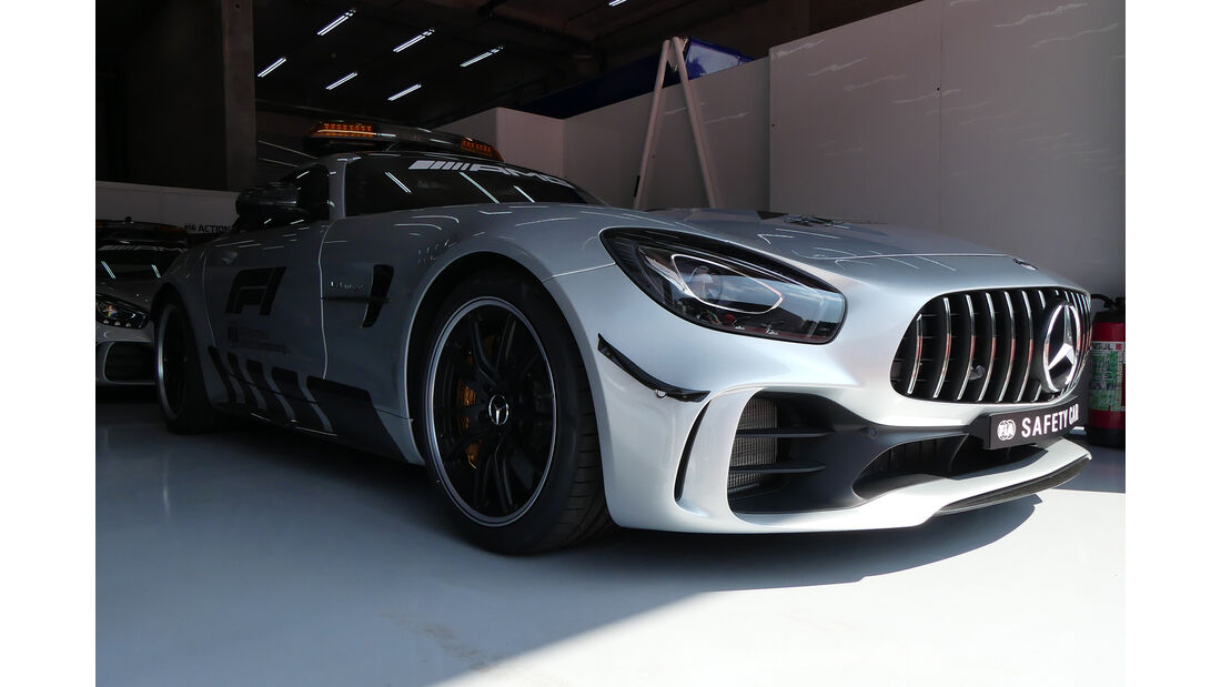 Safety-Car - Formel 1 - GP Belgien - Spa-Francorchamps - 22. August 2018