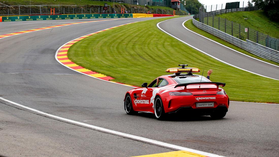 Safety-Car - Formel 1 - GP Belgien - Spa-Francorchamps - 27. August 2021