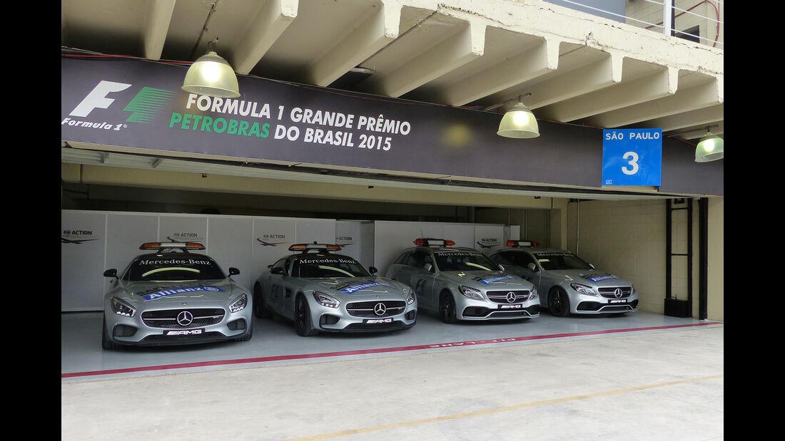 Safety Car - Formel 1 - GP Brasilien- 12. November 2015