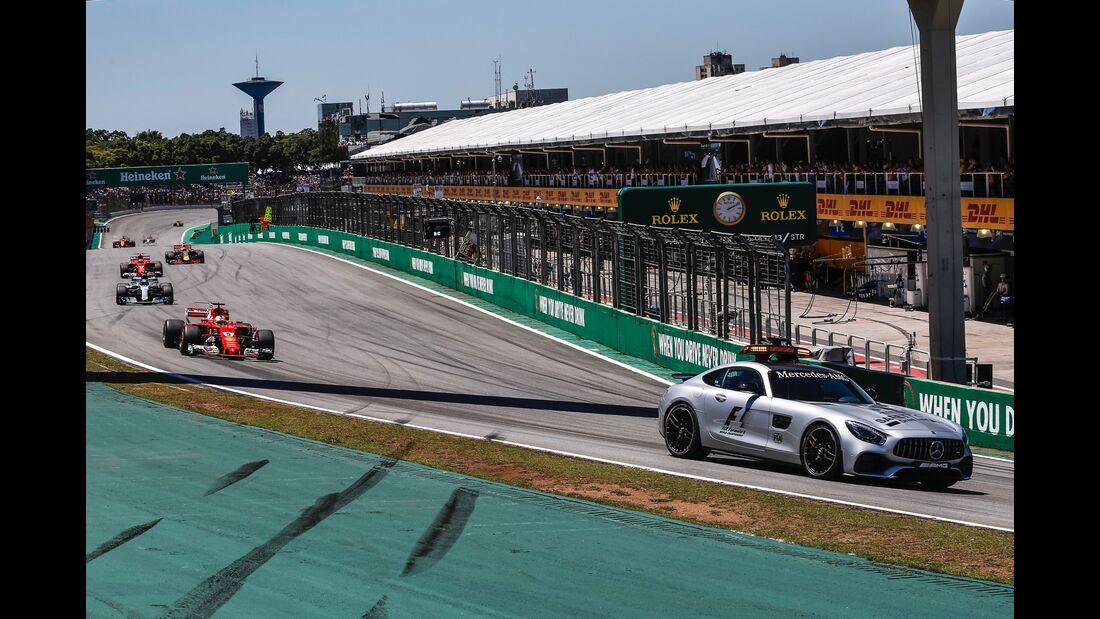 Safety Car - Formel 1 - GP Brasilien - 12. November 2017