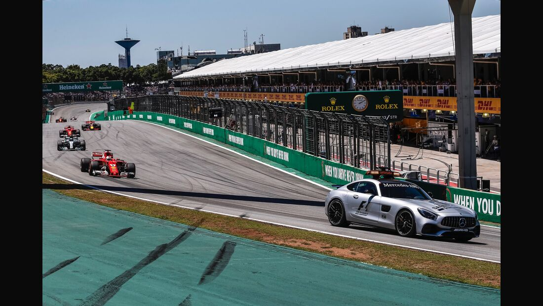Safety Car - Formel 1 - GP Brasilien - 12. November 2017