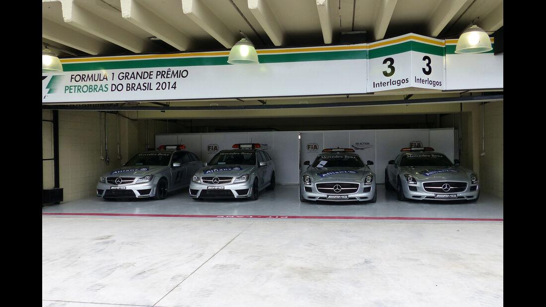 Safety Car  - Formel 1 - GP Brasilien - 6. November 2014