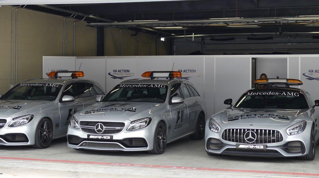 Safety Car - Formel 1 - GP Brasilien - 8. November 2017