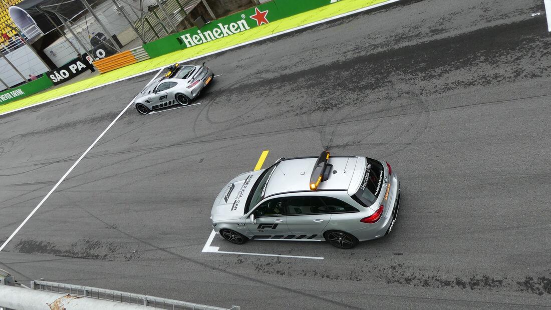 Safety-Car - Formel 1 - GP Brasilien - Sao Paulo - 14. November 2019