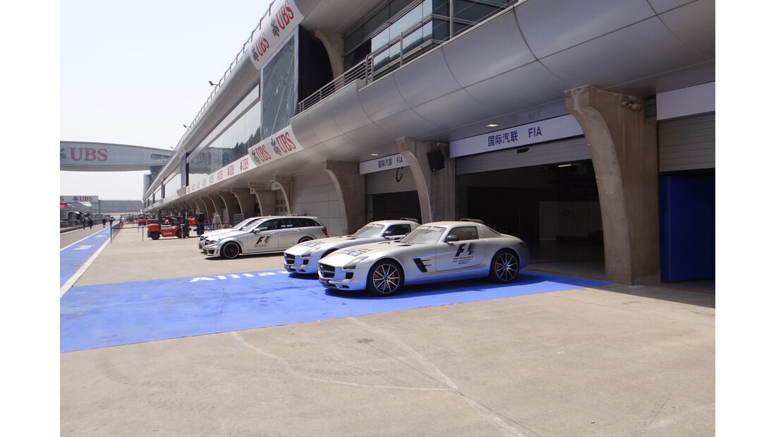 Safety Car - Formel 1 - GP China - 10. April 2013