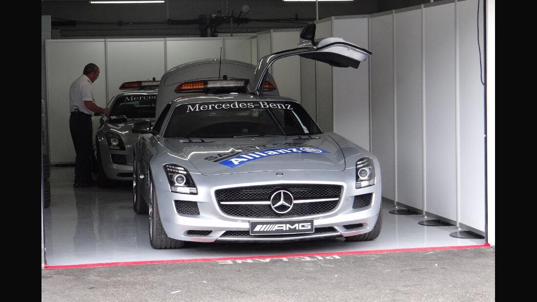 Safety Car - Formel 1 - GP Deutschland - 19. Juli 2012