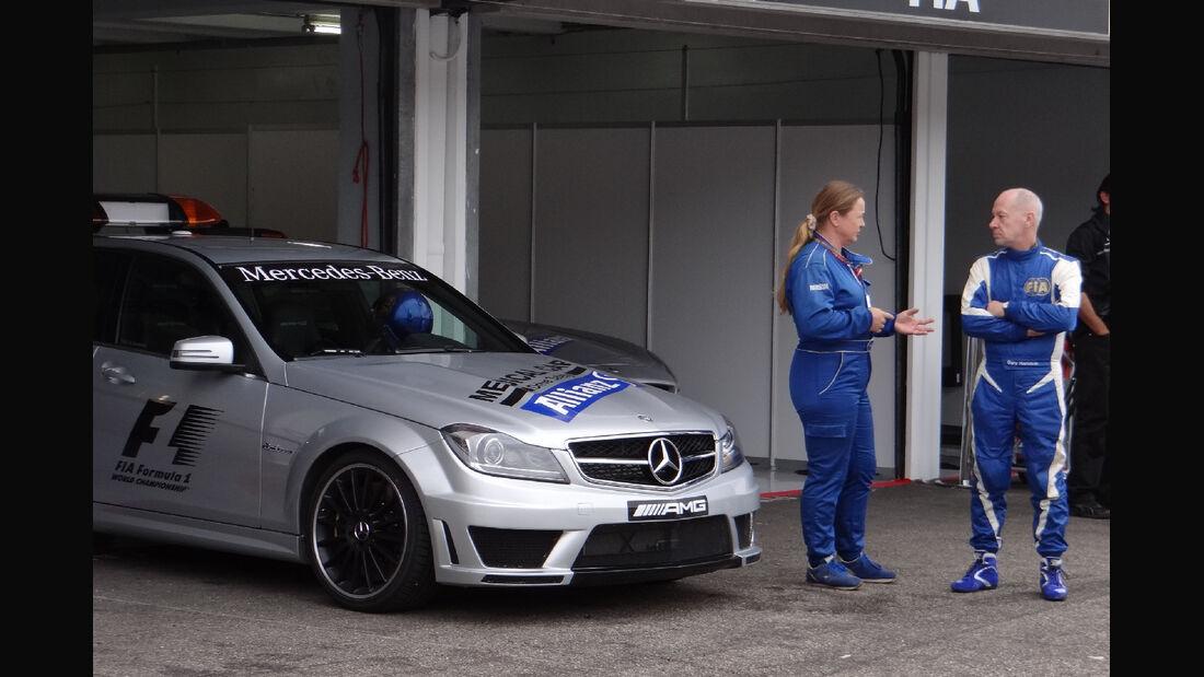 Safety Car - Formel 1 - GP Deutschland - 20. Juli 2012