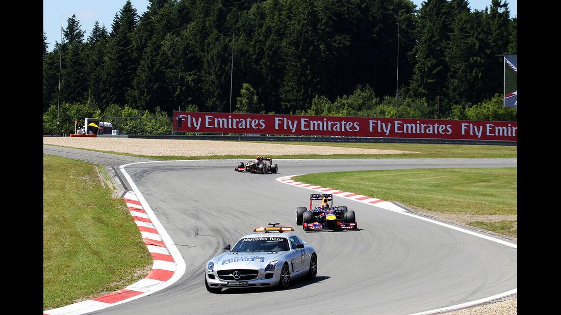 Safety-Car - Formel 1 - GP Deutschland 2013