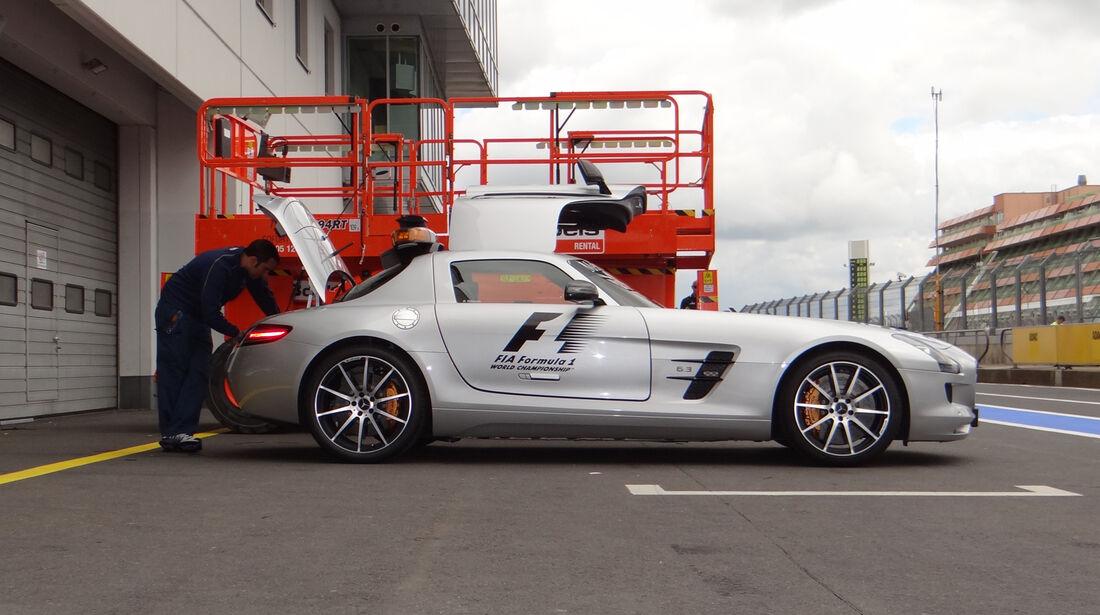 Safety-Car - Formel 1 - GP Deutschland - 4. Juli 2013