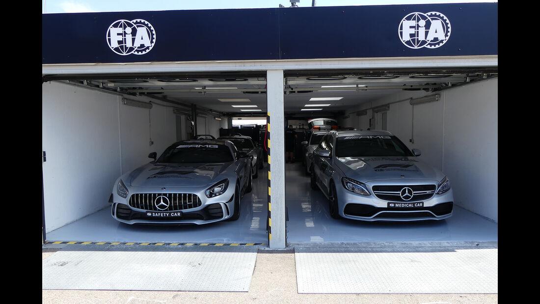 Safety-Car - Formel 1 - GP Deutschland - Hockenheim - 18. Juli 2018
