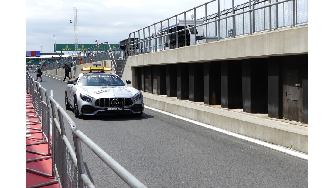Safety Car - Formel 1 - GP England - 13. Juli 2017
