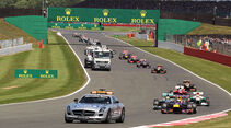 Safety-Car - Formel 1 - GP England 2013