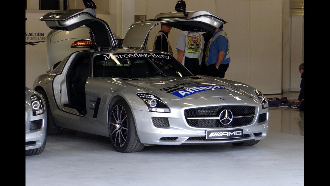 Safety Car - Formel 1 - GP England - 27. Juni 2013