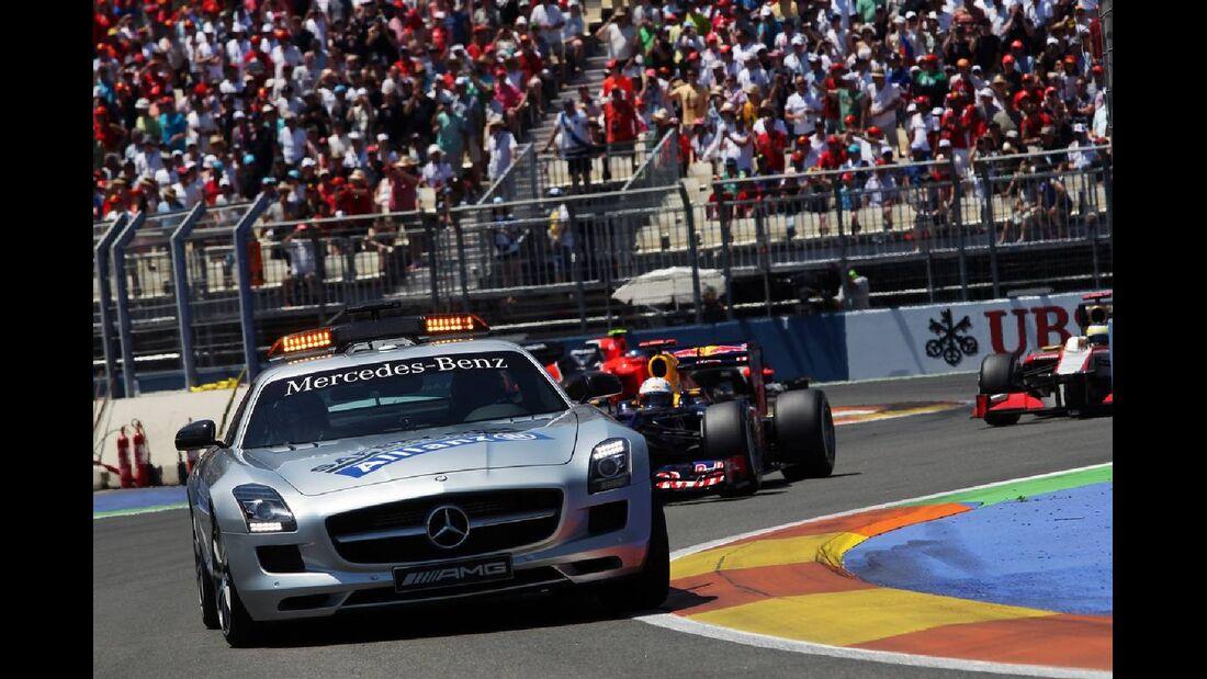 Safety Car  - Formel 1 - GP Europa - 24. Juni 2012
