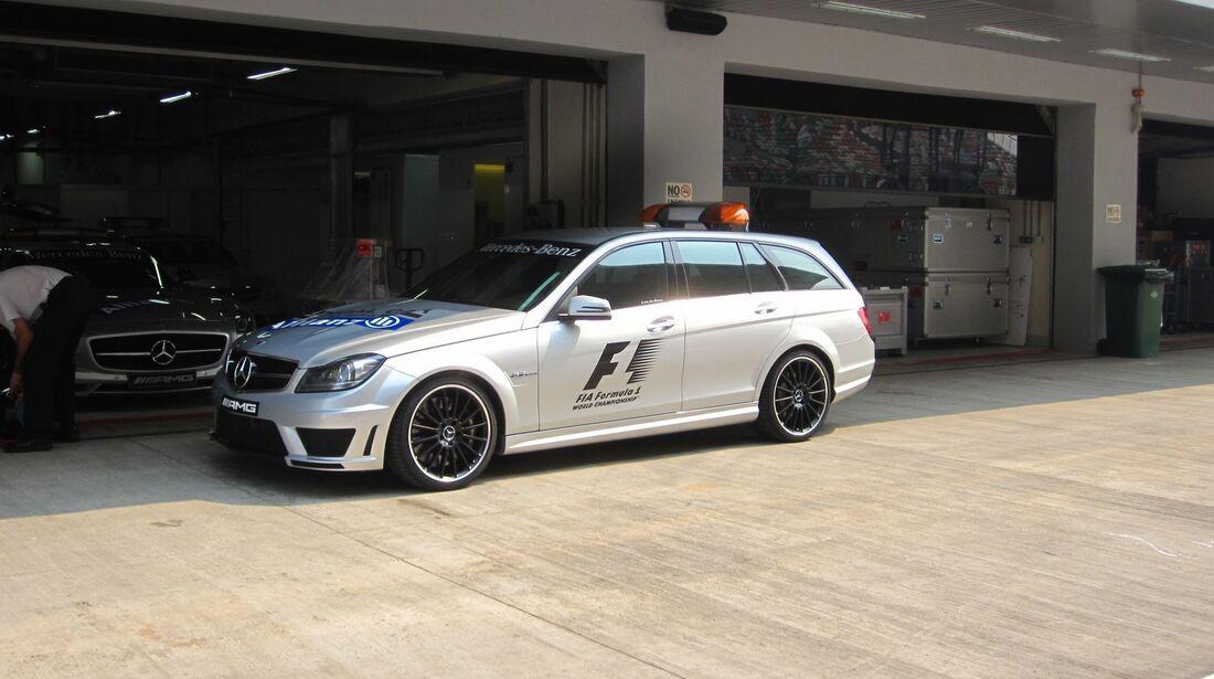 Safety Car  - Formel 1 - GP Indien - 25. Oktober 2012