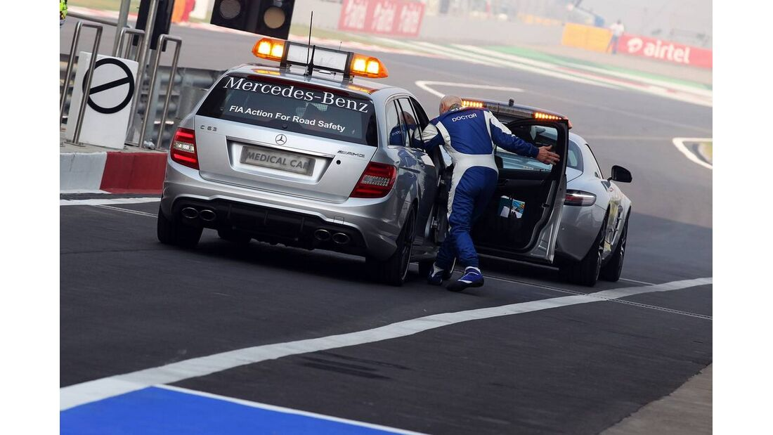 Safety Car - Formel 1 - GP Indien - 26. Oktober 2012
