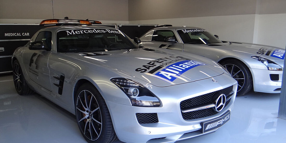 Safety-Car - Formel 1 - GP Italien - Monza - 5. September 2013