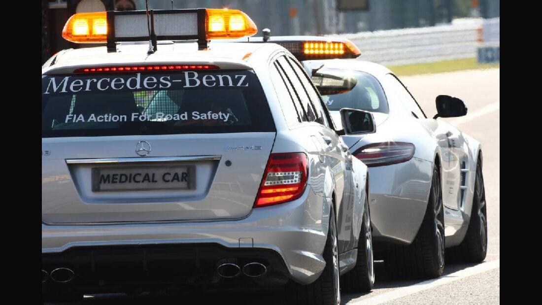 Safety Car  - Formel 1 - GP Japan - 07. Oktober 2011