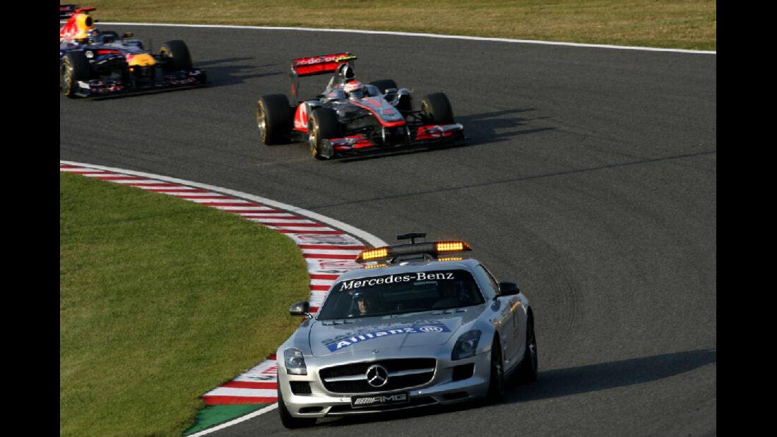 Safety Car  - Formel 1 - GP Japan - 9. Oktober 2011