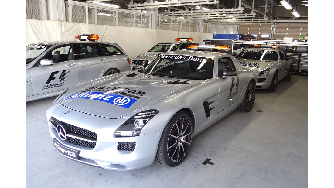 Safety-Car - Formel 1 - GP Japan - Suzuka - 10. Oktober 2013