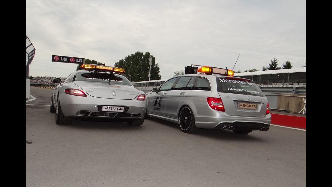 Safety-Car - Formel 1 - GP Kanada 2012 - 8. Juni 2012