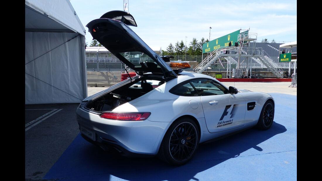 Safety-Car - Formel 1 - GP Kanada - Montreal - 4. Juni 2015