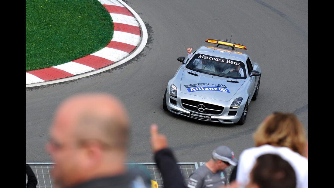 Safety-Car - Formel 1 - GP Kanada - Montreal - 6. Juni 2014