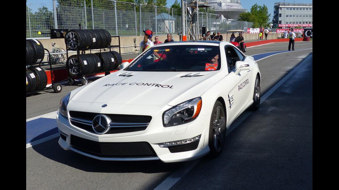 Safety-Car - Formel 1 - GP Kanada - Montreal - 7. Juni 2014