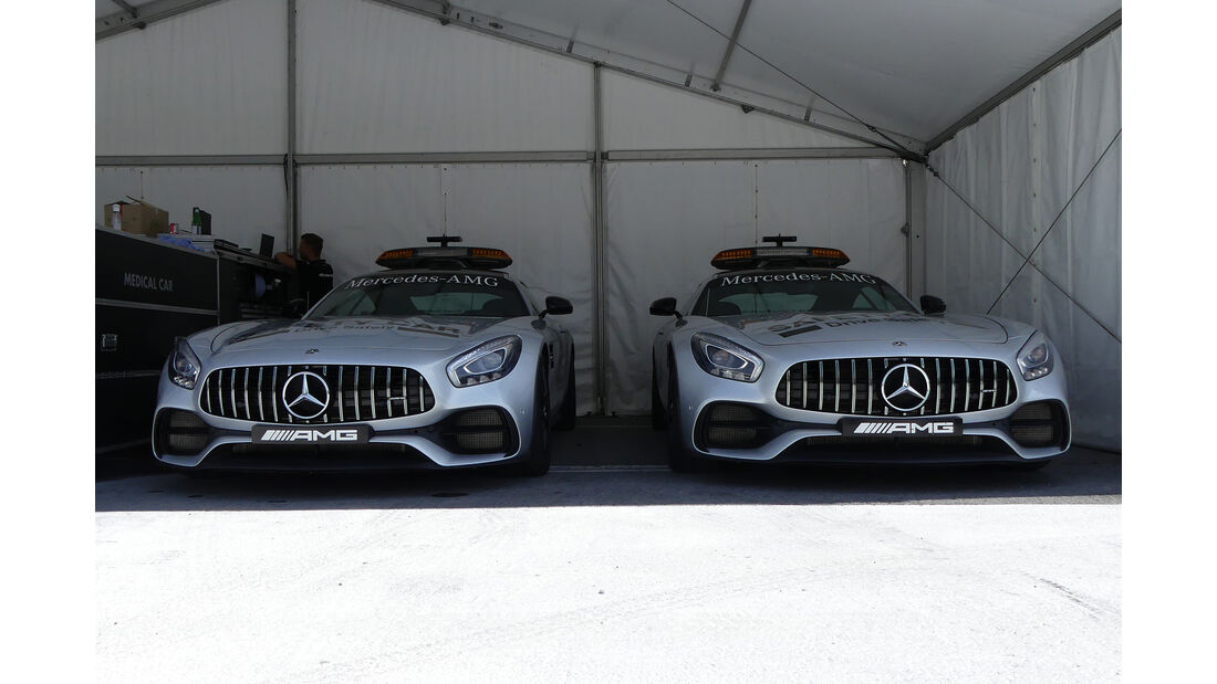 Safety-Car - Formel 1 - GP Kanada - Montreal - 8. Juni 2017