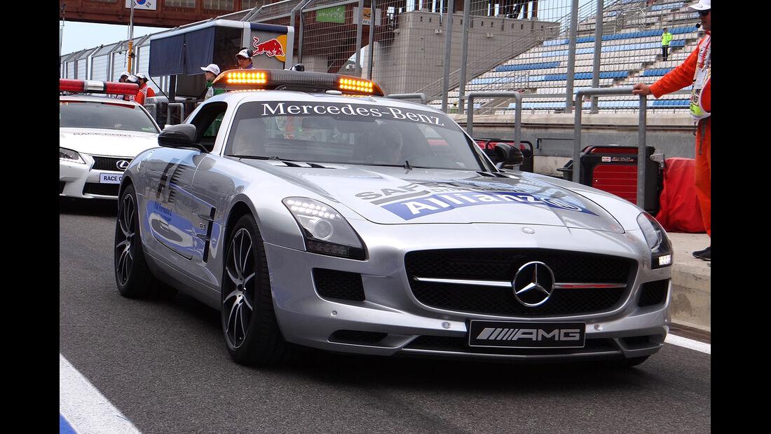 Safety-Car - Formel 1 - GP Korea - 5. Oktober 2013