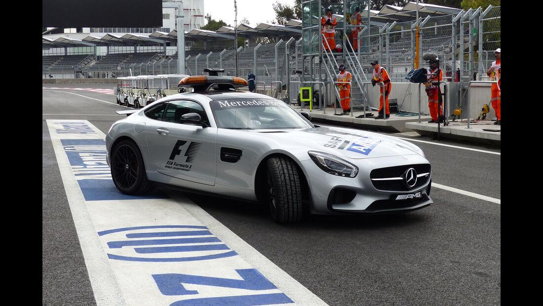 Safety-Car - Formel 1 - GP Mexico - 29. Oktober 2015