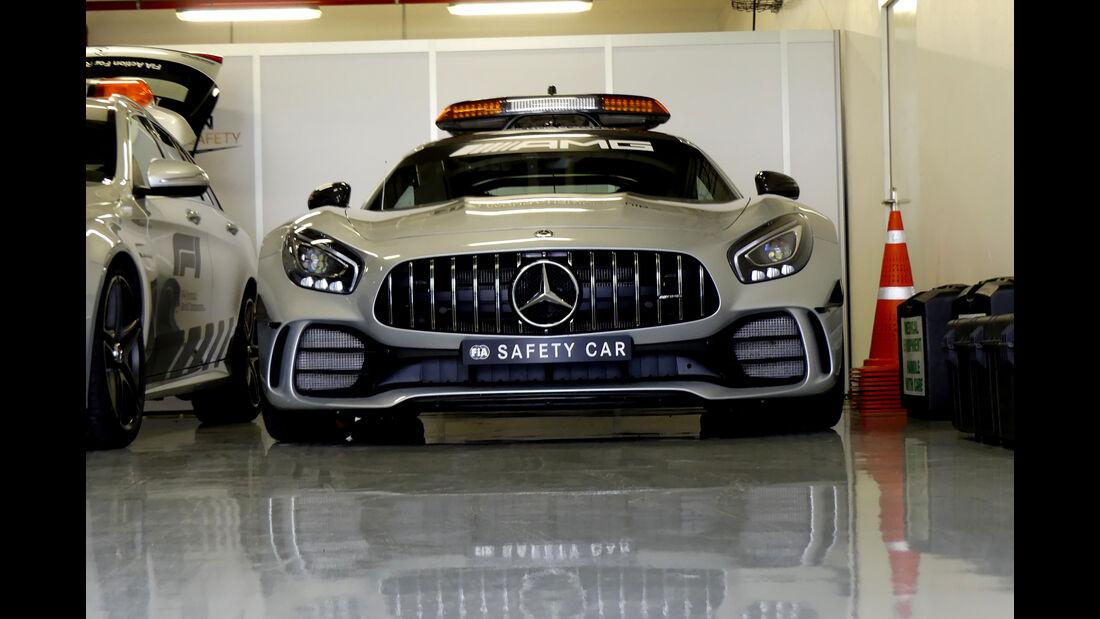 Safety-Car - Formel 1 - GP Mexiko - 24. Oktober 2018
