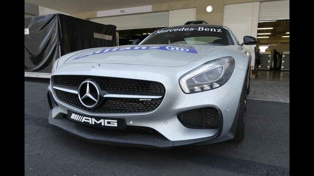 Safety-Car - Formel 1 - GP Mexiko - 26. Oktober 2016