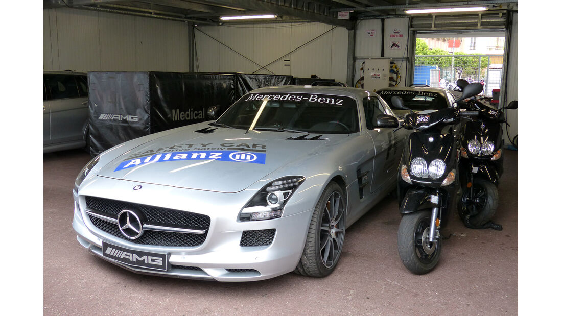 Safety Car - Formel 1 - GP Monaco - 20. Mai 2014