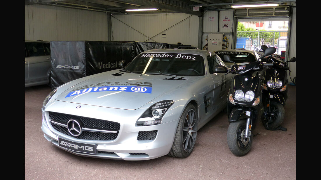 Safety Car - Formel 1 - GP Monaco - 20. Mai 2014