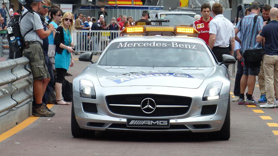 Safety-Car - Formel 1 - GP Monaco - 21. Mai 2014